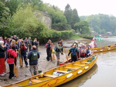 VOYAGER CANOE ADVENTURE FOR UP TO 12 PEOPLE