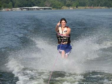 WATER SKIING LESSON