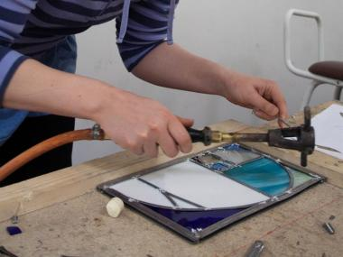 STAINED GLASS COURSE - TASTER DAY