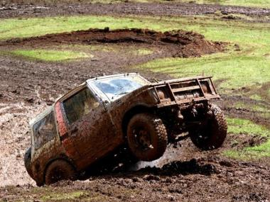 4X4 OFF ROAD EXPERIENCE IN SOMERSET
