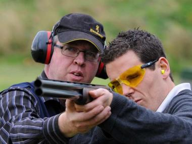 CLAY TARGET SHOOTING SOUTH DEVON