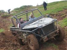HALF DAY OFF ROAD 4X4 DRIVING EXPERIENCE NEAR CARDIFF FOR TWO