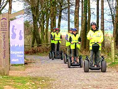 SEGWAY RIDING IN DEVON FOR TWO