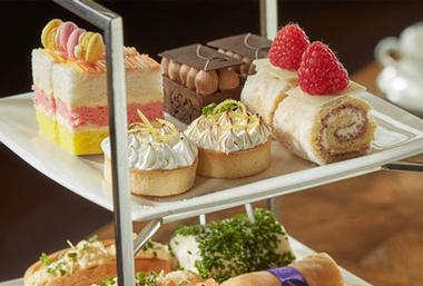 CHAMPAGNE AFTERNOON TEA FOR TWO @ BOVEY CASTLE