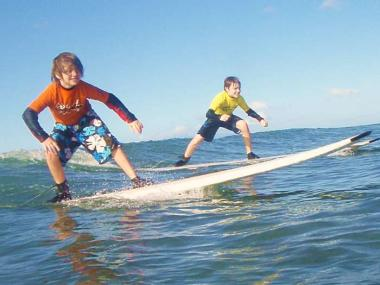 JUNIOR SURFING LESSON