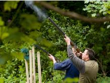 CLAY TARGET SHOOTING FOR TWO IN SOUTH DEVON