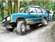 FULL DAY 4x4 OFF ROADING ONE TO ONE EXPERIENCE IN CORNWALL